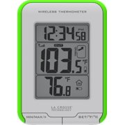 La Crosse Technology LCR3081410GRM La Crosse Technology 308-1410gr Digital Indoor-outdoor Thermometer