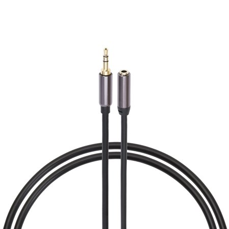 Jumbl – 3.5mm M/F Stereo Audio Aux Extension Cable Cord 4 Ft  (Male to Female)