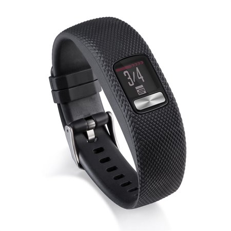 Silicone Replacement Wrist Band Strap With Metal Buckle For Garmin vivofit 4
