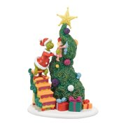 department 56 grinch villages it takes two grinch and cindy lou accessory 6 inch - Ceramic Christmas Houses