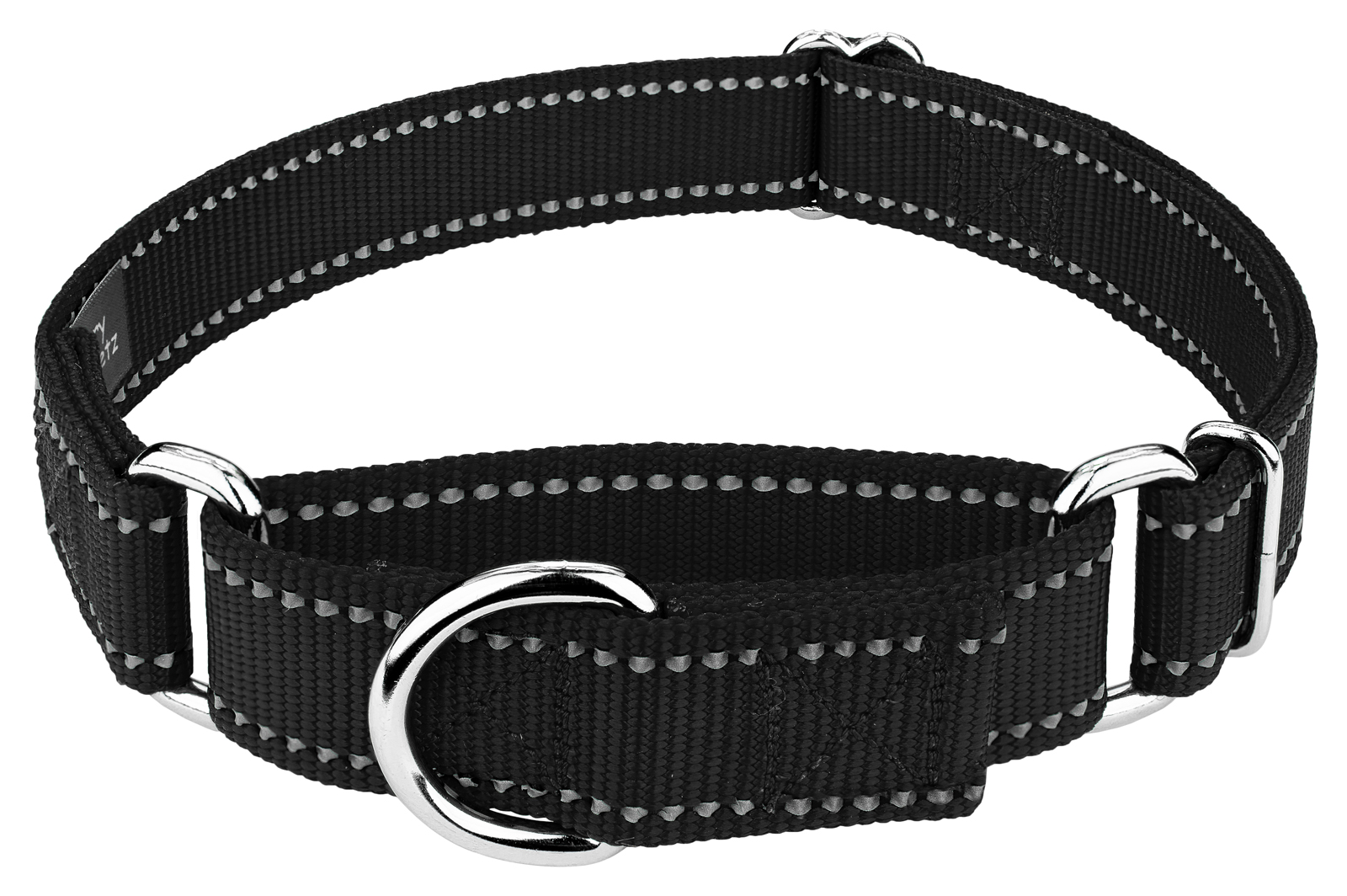 Country Brook Petz | Reflective Nylon Martingale Dog Collar by Country Brook Petz