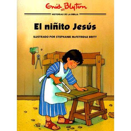 Historias de la Biblia Para Ninos: El Ninito Jesus (Paperback)
