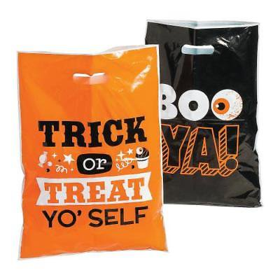 Halloween Funny Sayings Trick-or-Treat Goody Bags