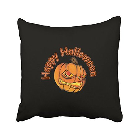 WinHome Decorative Pillowcases Halloween Pumpkin Monster Throw Pillow Covers Cases Cushion Cover Case Sofa 20x20 Inches Two Side](Monster High Halloween Pumpkin Stencils)
