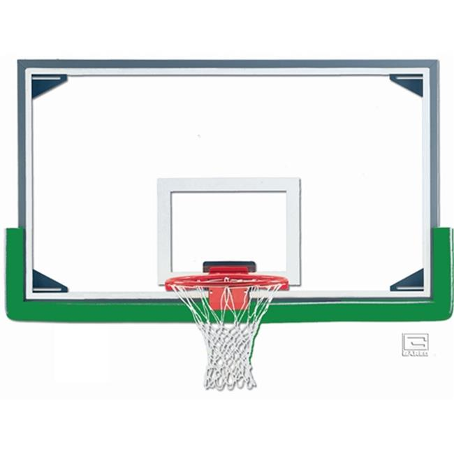 Gared Sports AFRG42E 42 x 72 in. Economy Regulation Glass Backboard with Aluminum Frame