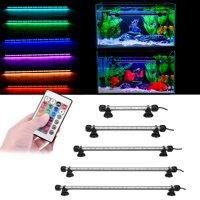 18-52cm Aquarium Fish Tank LED Light Submersible Waterproof Bar Strip Lamp 5050 Underwater Lights