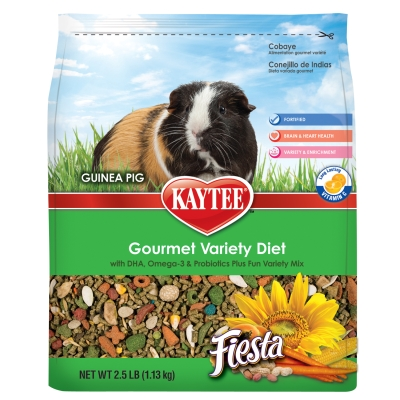 CENTRAL - KAYTEE PRODUCTS, INC FIESTA GUINEA PIG 2.5LB