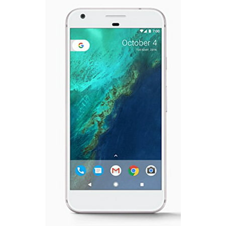 Google Pixel Phone 128 GB - 5 inch display ( Factory Unlocked US Version ) (Very Silver)