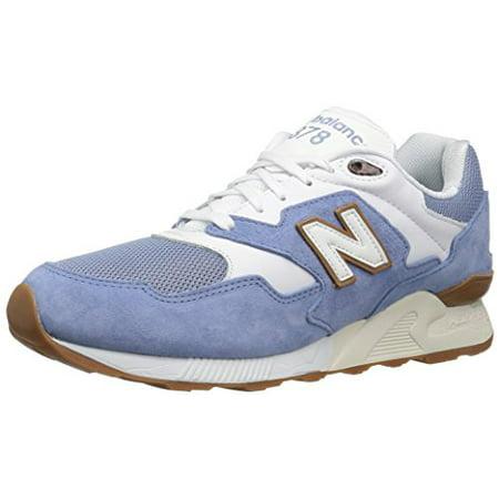 photos officielles 4b0d8 b736a New Balance ML878RMB: NB Classic 878 Restomod Sky-Blue/Gum-Sole Premium  Sneaker