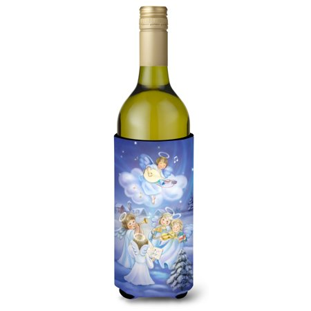 Angels around the Tree Wine Bottle Beverage Insulator Hugger APH6028LITERK