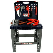 Quality Workbench Children's Kid's Pretend Play Toy Work Shop Tool Set w/ Tools, Accessories