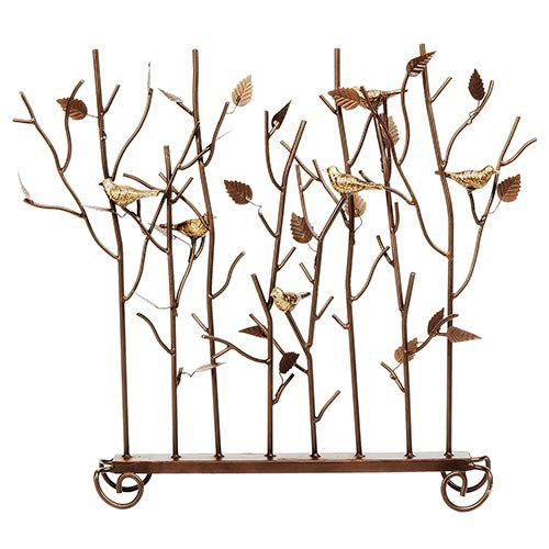 Minuteman International Birds of Summer Decorative Fireplace Screen by Minuteman International