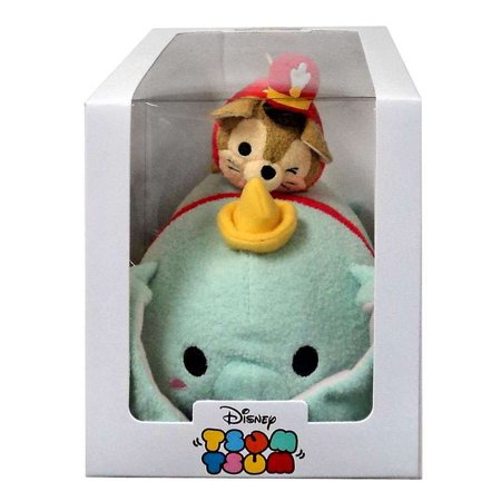 Disney Tsum Tsum Timothy Q. Mouse & Dumbo Plush Set [Subscription