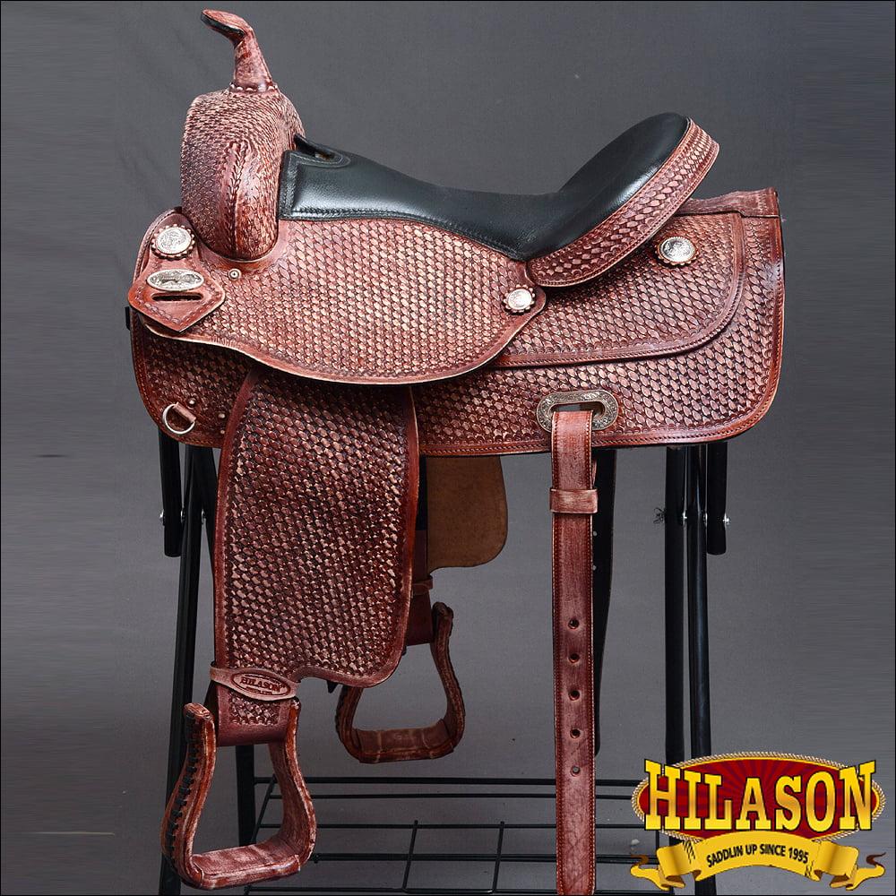 DF101MREDRO-F HILASON WESTERN DRAFT HORSE TRAIL RIDING EN...