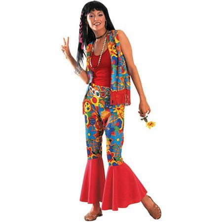 Hippie Womens Halloween Costume - Walmart.com