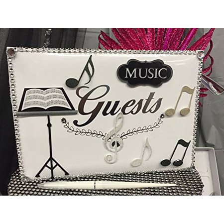 Music Enthusiast Party Guest Book Favor Keepsake Gift - Graduation Gifts For Guests