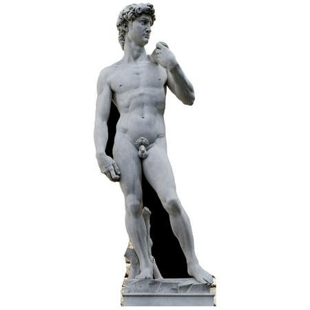 Star Cutouts Michelangelo's David Statue Cardboard Cutout Life Size Standup