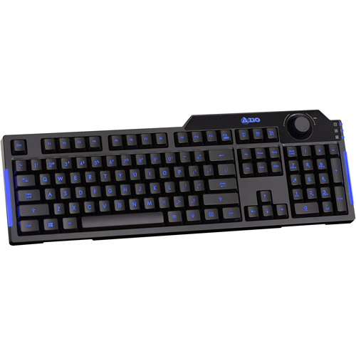 AZiO Levetron L70 LED Backlit Gaming Keyboard
