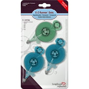 """Scrapbook Adhesives E-Z Runner Dots Value Pack 3/Pkg-1-Repo/2-Perm, .3""""X42', Total 126'"""