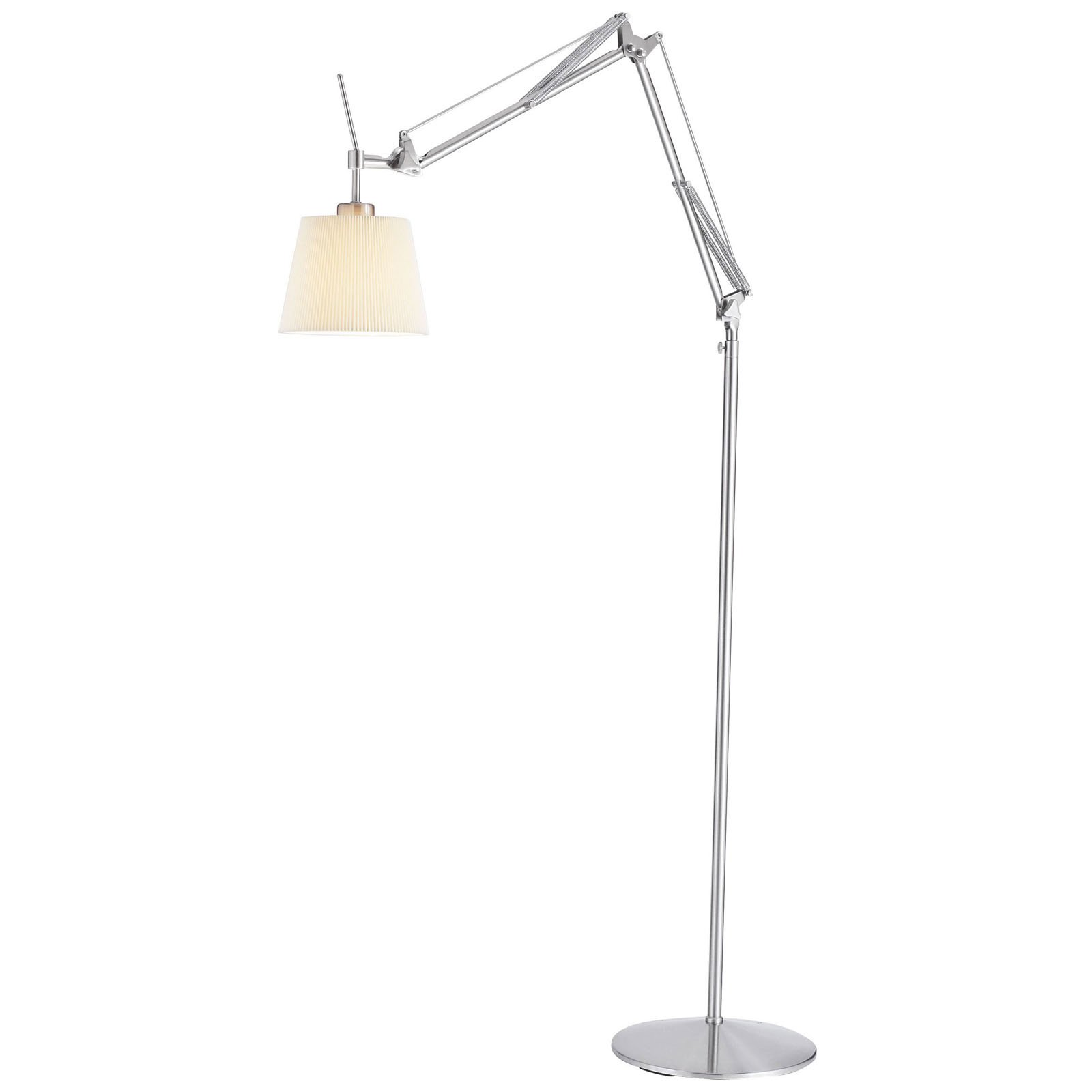 Adesso Architect Floor Lamp Brushed Steel by Adesso Inc