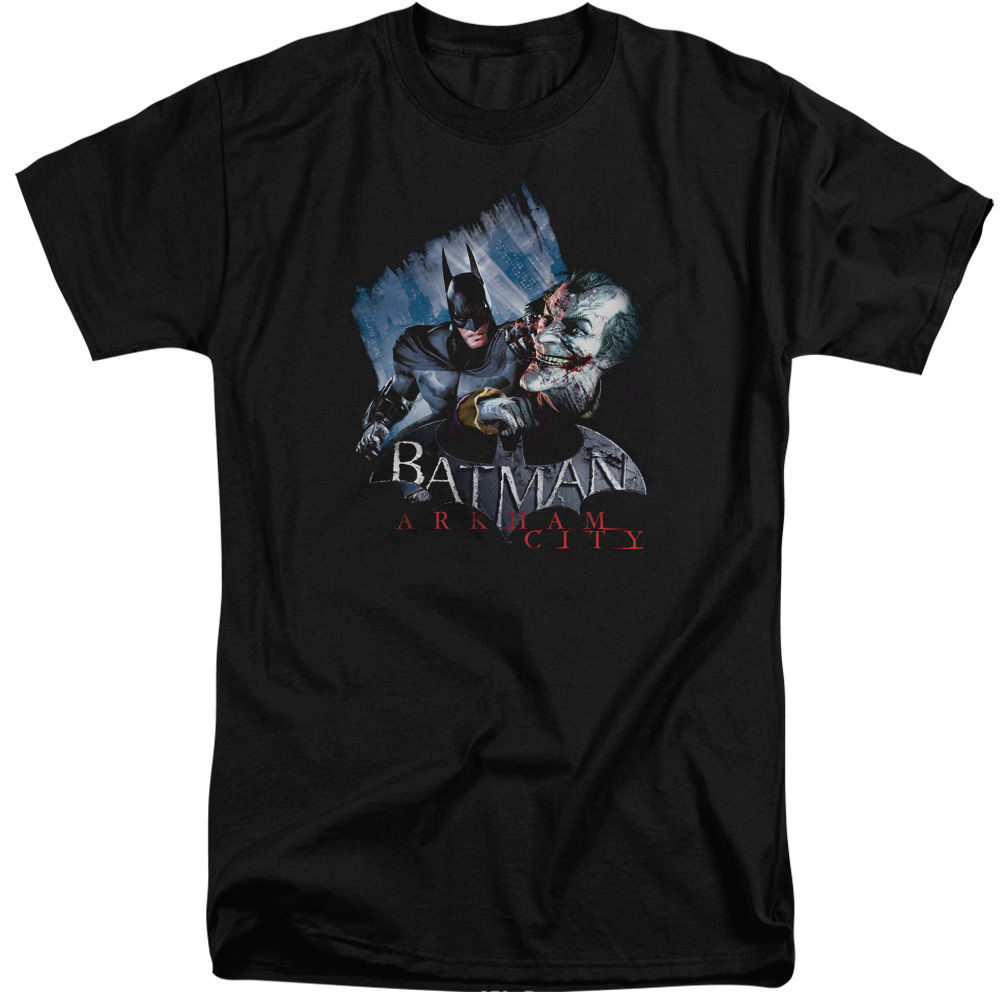 Arkham City Joke's On You! Mens Big and Tall Shirt