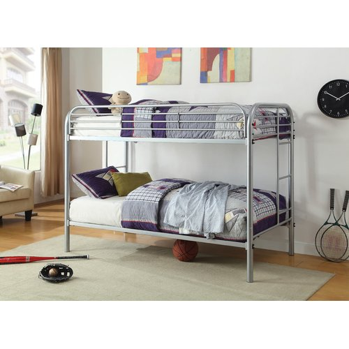 Zoomie Kids Hollaway Transitional Twin Bunk Bed