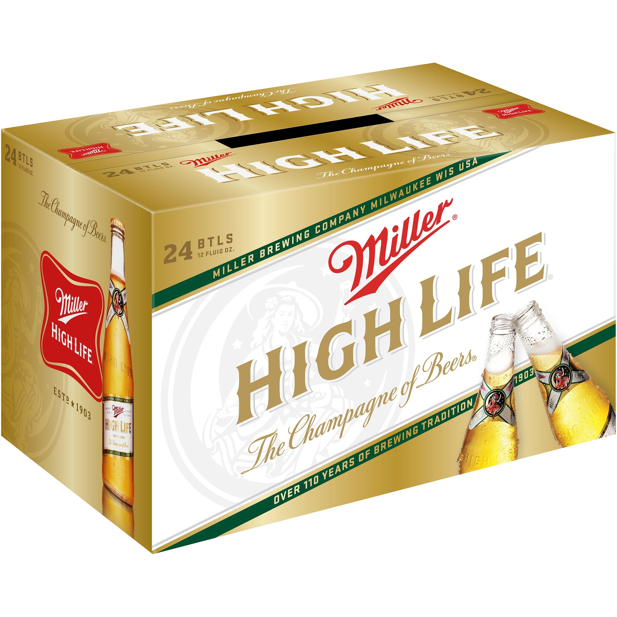 Miller�� High Life�� Beer 24-12 fl. oz. Bottles
