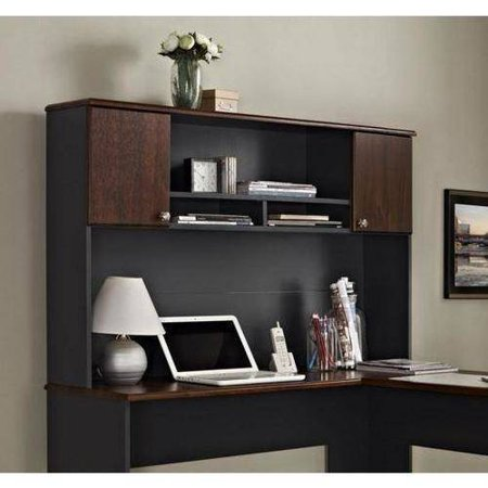 dark and desks desk wood ot cherry ivy hutch with dsk product league
