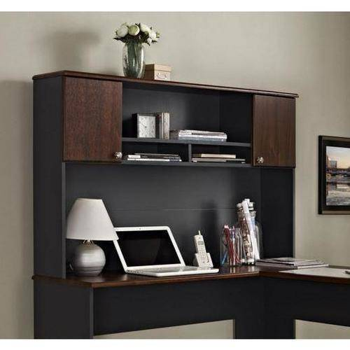Ameriwood Home The Works Hutch, Cherry/Gray