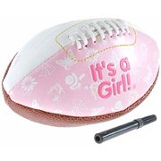 It's A Girl Mini Football