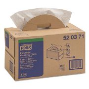 Premium Multipurpose Cloth 520, Handy Box, 15 x 16 1/2, Gray, 280/Box