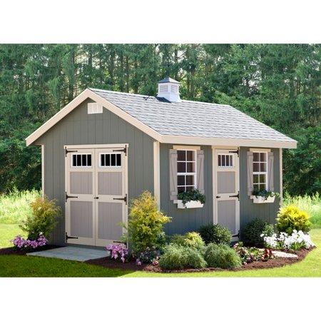 Ez fit sheds riverside 10 ft w x 14 ft d wooden storage for 10 x 14 living room design