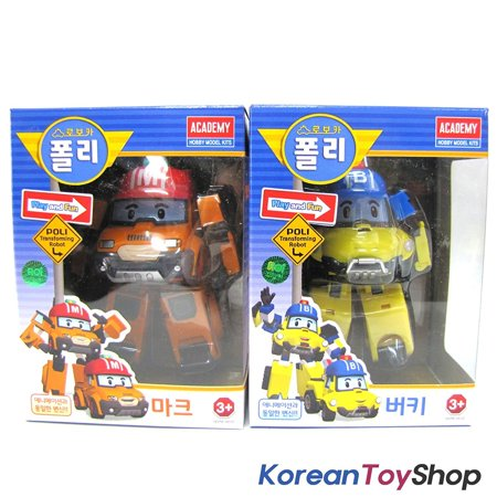 Robocar poli mark bucky transformer robot car toy action - Robot car polly ...