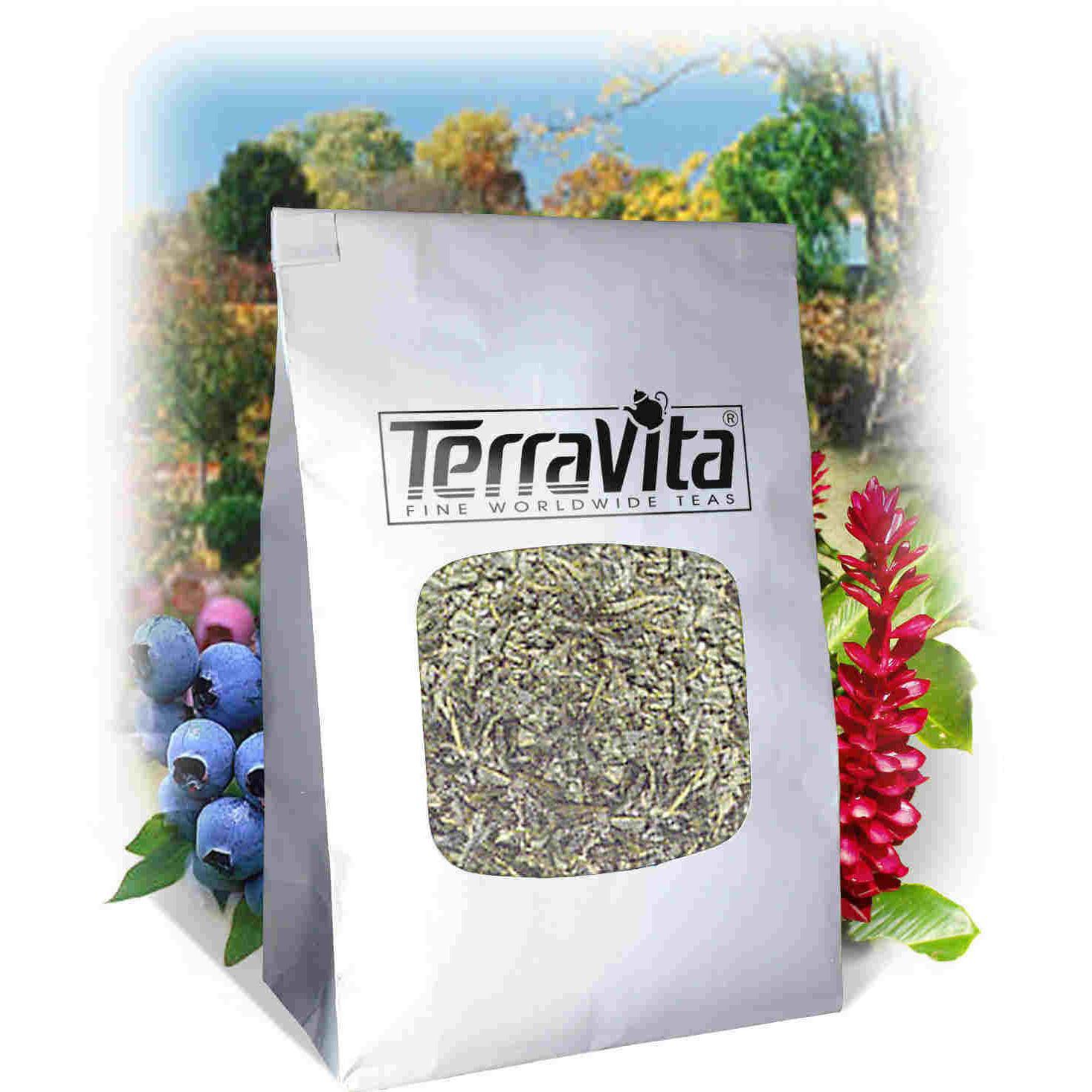 American Saffron and Slippery Elm Bark Combination Tea (Loose) (8 oz, ZIN: 516624) by TerraVita