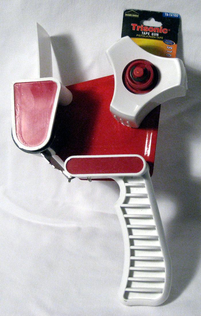1 Tape Dispenser Gun Packaging Industrial Hand Held Cutter Packaging Industrial by TRISONIC