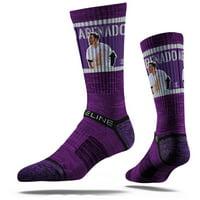 Nolan Arenado Colorado Rockies Strideline Premium Player Crew Socks