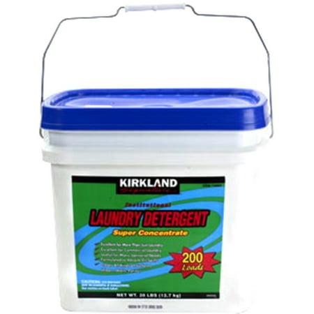 Kirkland Laundry Detergent Super Concentrate Powder  Kirkland Laundry