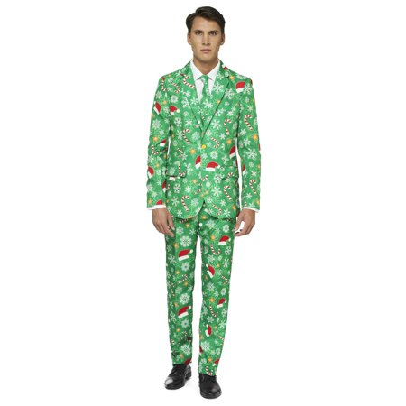 OffStream Men's Xmas Time Christmas Suit](Bassnectar Halloween Time)