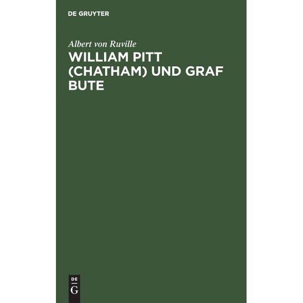 William Pitt (Chatham) Und Graf Bute (Hardcover)
