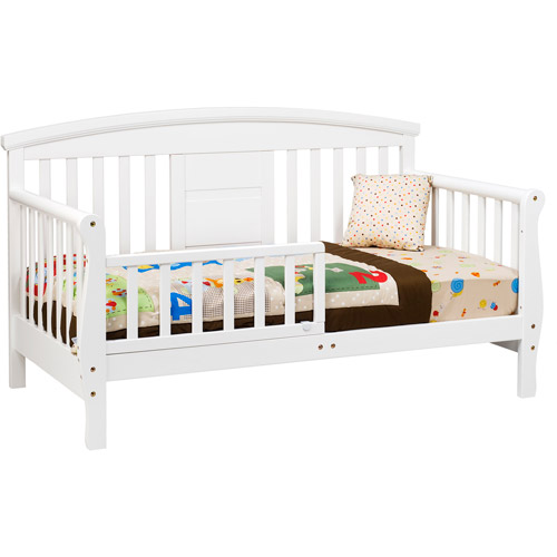 DaVinci Elizabeth II Convertible Toddler Bed, White