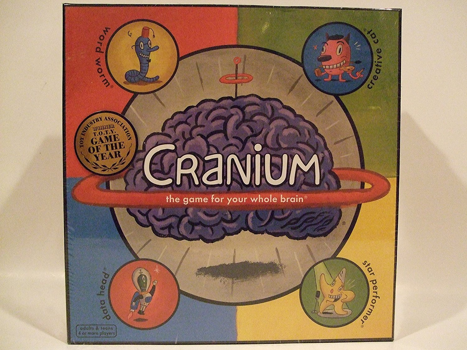 Cranium The Game for Your Whole Brain by