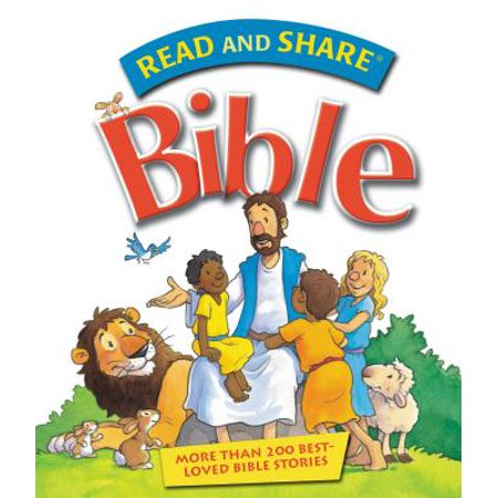 Read and Share Bible: Over 200 Best Loved Bible Stories (Best Poets To Read)