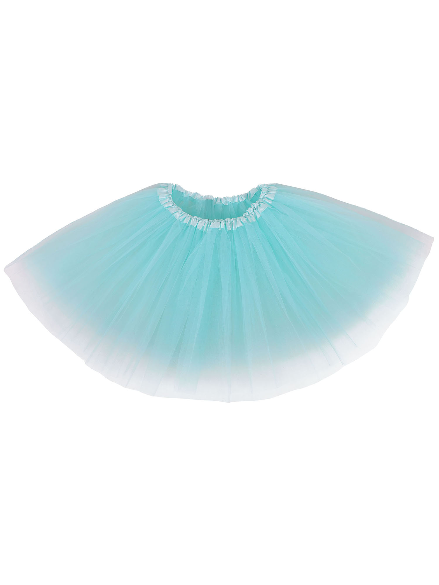 845158eb8b Women's Classical Vintage Triple Layered Tulle Tutu Skirt, Teal Green ...