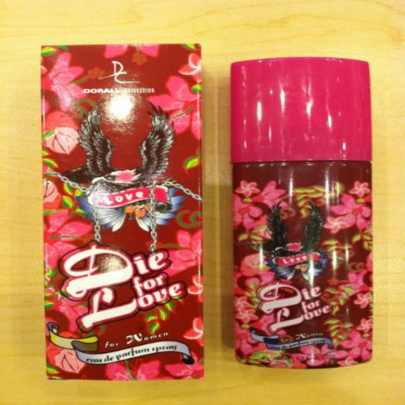 Die for love Ladies Perfume 3.4 Oz EDP Spray New