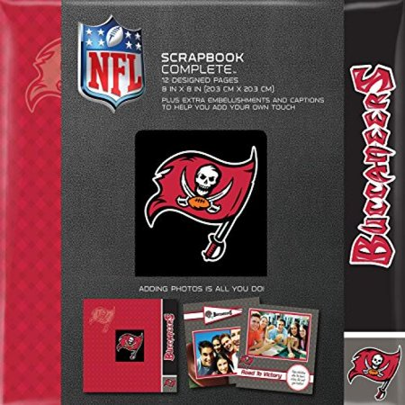 C.R. Gibson Scrapbook Complete Kit, Small, Tampa Bay Buccaneers (N878426M)