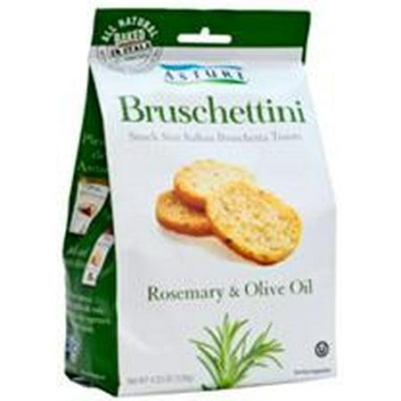 - Bruschettini, Rosemary and Olive Oil (Asturi) 120g