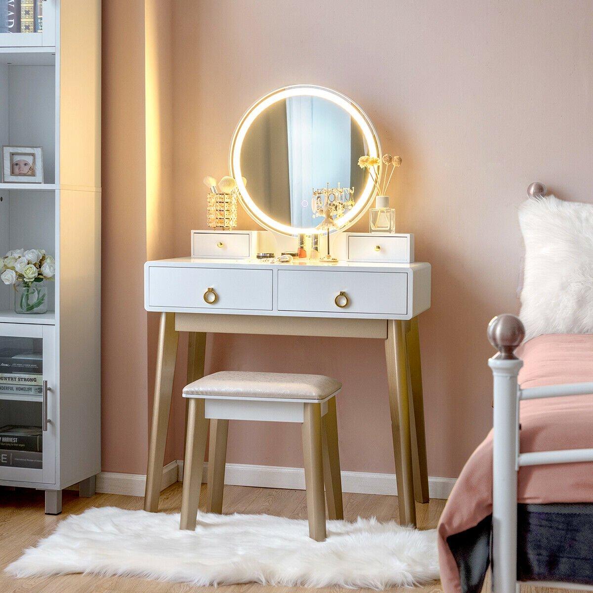 Makeup Vanity Furniture Canada  Saubhaya Makeup