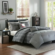 Home Essence Apartment Chet Plaid Comforter Bedding Set