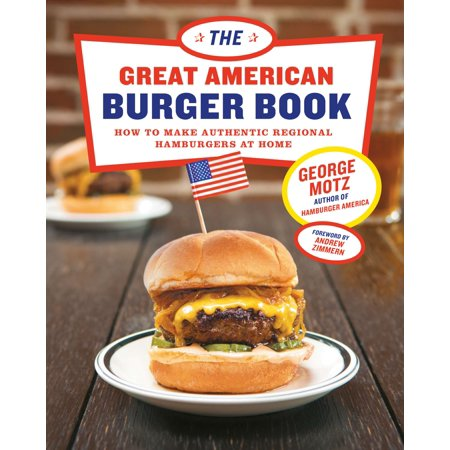 The Great American Burger Book - eBook
