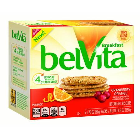 belVita Cranberry Orange Breakfast Biscuits, 8.8